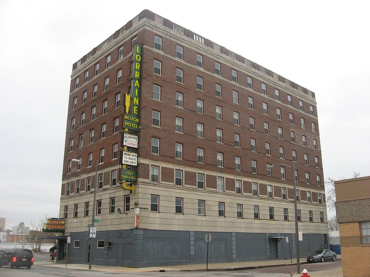 File Lorraine Motor Hotel Toledo Jpg Wikimedia Commons