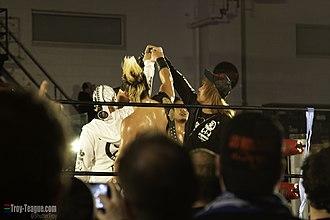 Seiya Sanada - When Sanada appeared in NJPW, he joined Los Ingobernables de Japón.