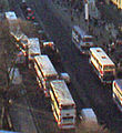 Lothian Buses buses on Princes Street, Edinburgh, 2003.jpg