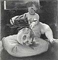 Lotto - Cupido incorona un teschio, Alnwick Castle.jpg