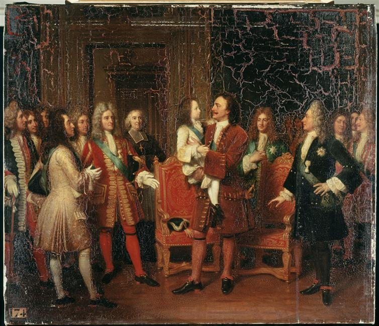Louis XV & Peter I