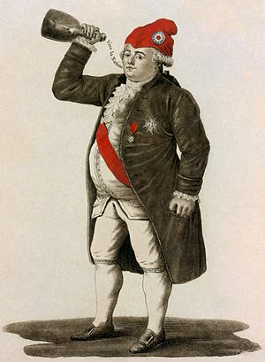 Culottes - Louis XVI, dressed in culottes