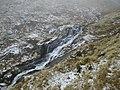 Lower Waterfall (430m contour), Roughten Gill - geograph.org.uk - 98881.jpg