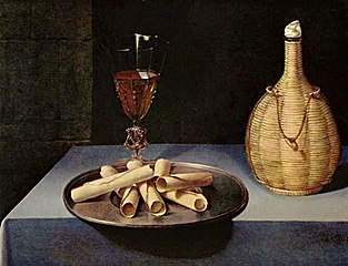 Still-Life with Wafer Biscuits