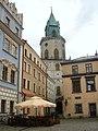 Lublin, Poland - Market Square ^ Trynitarska Tower - panoramio.jpg