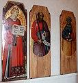 Luca di tommè, tre santi dal polittico di san paolo, 1374-90 ca., da ufficio biccherna a siena, 01.JPG