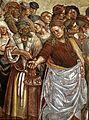 Luca signorelli, cappella di san brizio, predica e punizione dell'anticristo 06.jpg