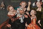 Lucas Cranach d.Ä. - Hercules with Omphale (Herzog Anton Ulrich-Museum).jpg