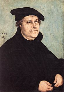 Lucas Cranach d. Ä. - Portrait of Martin Luther - WGA05703.jpg
