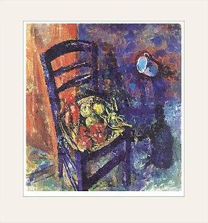 Ludvig Karsten - Image: Ludvig Karsten Blå stol