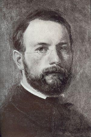 Ludwig des Coudres - Self-portrait (c.1854)