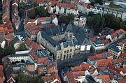 Luftbild Erfurter Rathaus