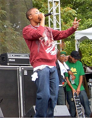 Lupe Fiasco - Lupe Fiasco performing at the Intonation Music Festival, 2006.