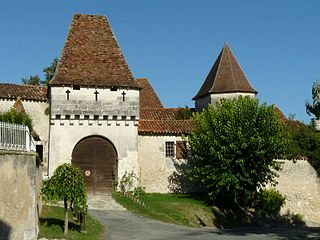 Lusignac Commune in Nouvelle-Aquitaine, France