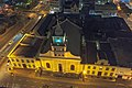 Lutheran Church complex, Strand Street, Cape Town, from roof of Strand South hotel at night.jpg