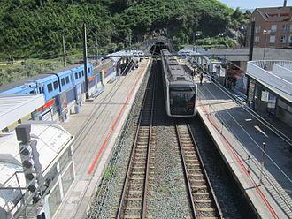 Lutxana - Image: Lutxana Erandio geltokia euskotren metro
