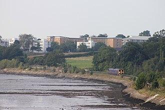 Avocet Line - Alongside the River Exe near Lympstone