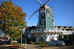 Lynden, Washington - Windmill on Front Street