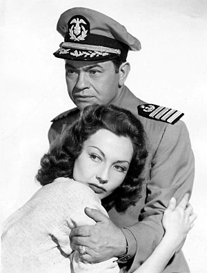 Edward G. Robinson - With Lynn Bari in Tampico (1944)
