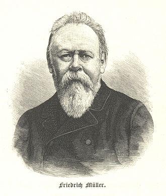 Friedrich Müller (linguist) - Friedrich Müller