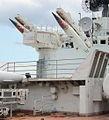 M-11 Shtorm launcher at Minsk World.jpg