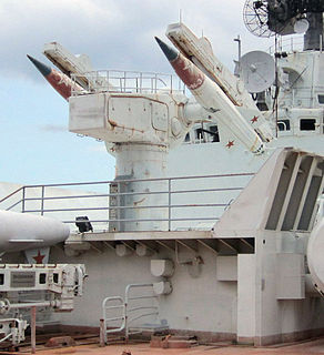 M-11 Shtorm ship-launched surface-to-air missile system
