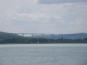 M7 motorway (Hungary) - Köröshegyi völgyhíd from Balaton