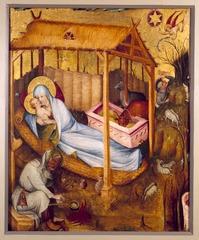 Middelrijns altaar, geboorte van Christus