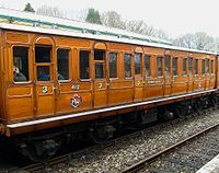 METROPOLITAN Chesham CARRIAGE No 412.JPG