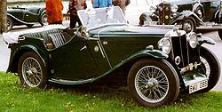 MG NA Magnette 4-Seater Tourer 1934