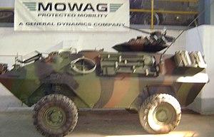 Mowag Piranha - MOWAG Piranha 4×4 IB