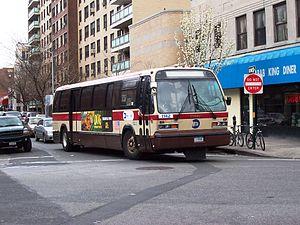 Jamaica Buses - Image: MTA Bus GMC RTS 1142