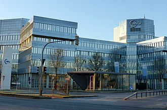 MTU Aero Engines - MTU Aero Engines Headquarters in Munich
