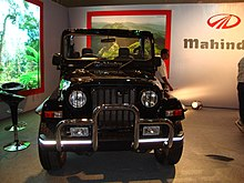 Mahindra Limited Indian Jeep