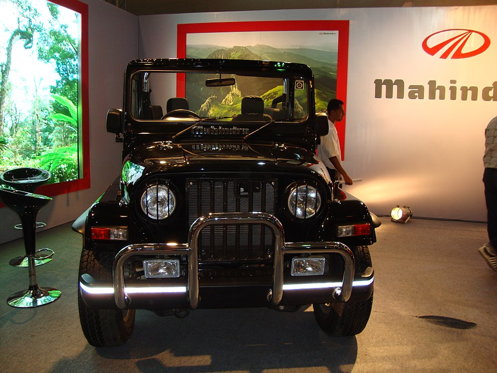 M & M jeep