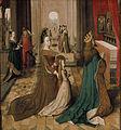Maître colonais du cycle de sainte Ursule 4. Ursula avec ses parents.jpg