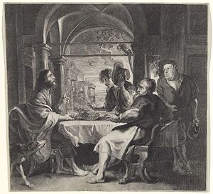 Hans Witdoeck - Supper at Emmaus