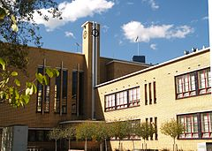 Art Deco architecture at Mac.Robertson Girls' High School
