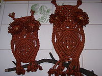Decorative macrame.