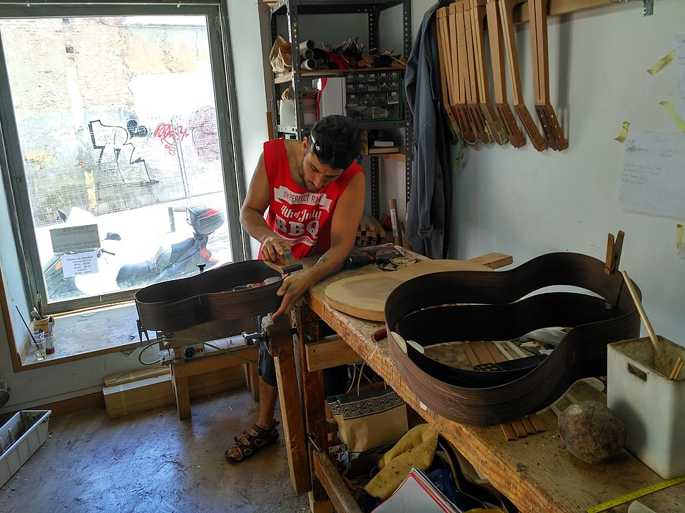 Madrid luthier