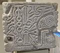 Maestranza lucchese, capitello-acquasantiera con volti, animali e simboli, VII-IX sec, da ss. martino e giusto, gello di camaiore (LU) 01.JPG