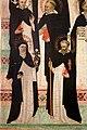 Maestro delle effigi domenicane, tavola del beato maurizio d'ungheria (santi e beati domenicani al cospetto di gesù e maria in trono), 1335-40 ca. 07.jpg