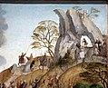 Maestro di lourinhã, retablo di san jacopo, 1520-25, 08 il gran maestro d. paio peres correia invoca la vergine per la batt. di tentudia 2.jpg