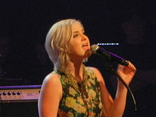 Maggie Rose at the Grand Ole Opry, Nashville, Tennessee, 23 February 2013.JPG