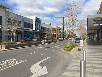 Point Cook, Victoria - Main Street, Point Cook
