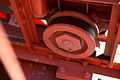 Maintenance wheel on the Golden Gate bridge in San Francisco 89.jpg