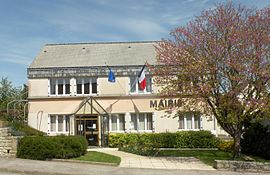 The town hall in Malguénac