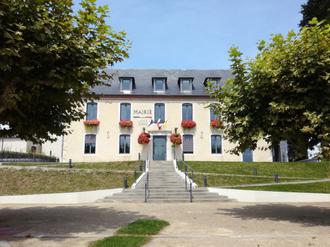 Serres-Castet - The town hall of Serres-Castet
