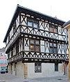 Maison pans bois rues Église Tour Église Charlieu 2.jpg