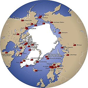 List Of Research Stations In The Arctic Wikipedia - Antarctic research stations map